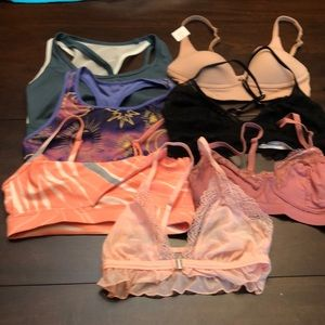 Bundle of 7 bras size xs -  6 new without tags